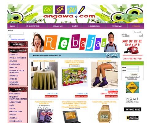 Tienda de ropa de hogar angawa com c mo crear tu tienda for Articulos para el hogar online