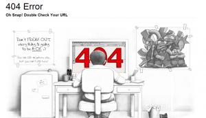 error 404 creativo