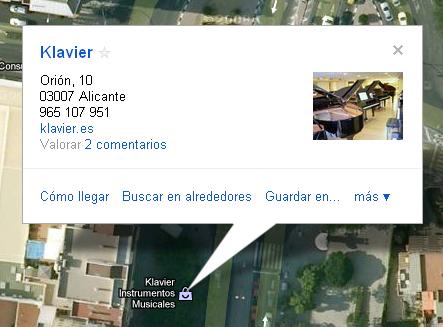 google maps - geolocalización