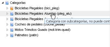 Orden Categorías