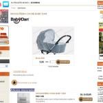 Tienda on-line de artículos para bebés – Cliente Dataweb