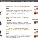 Lista productos Tienda on-line de artículos para bebés