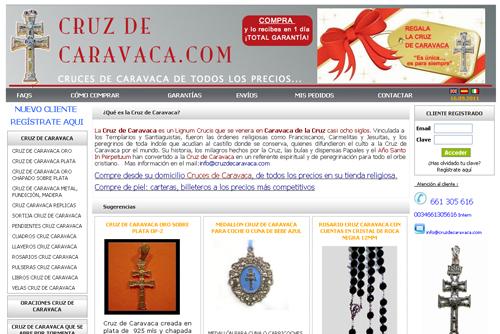 tienda online - cruz caravacas