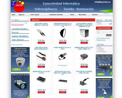 tienda online de informática y seguridad