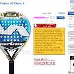 Ficha producto Tienda online Padel