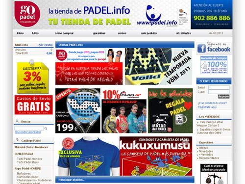 Tienda online Padel