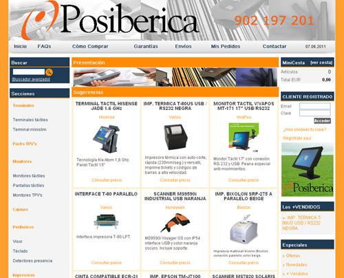 tienda virtual de terminales para puntos de venta